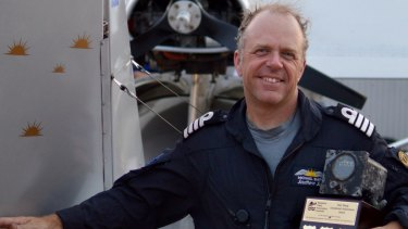 There were moments during his around the world flying adventure when Michael Smith thought he was going to die.