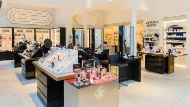 Mecca Cosmetica's store on Melbourne's upmarket Toorak Road.