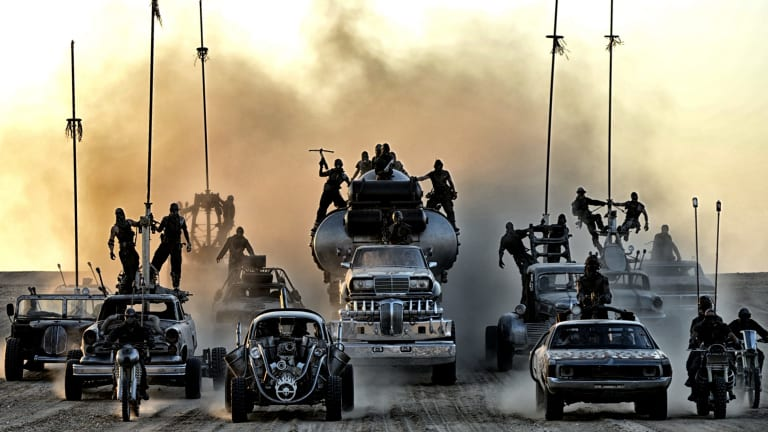 Melbourne was going full frontal Mad Max: Fury Road.