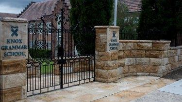 Knox Grammar school in Wahroonga, Sydney.