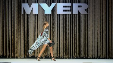 Myer's retail share offer has come up very short of its target.