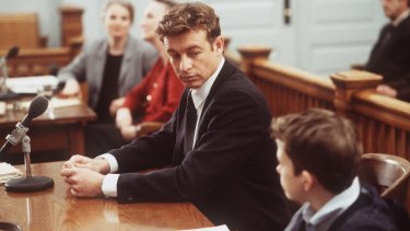 Baker as Nick Fallin in <i>The Guardian</i>.