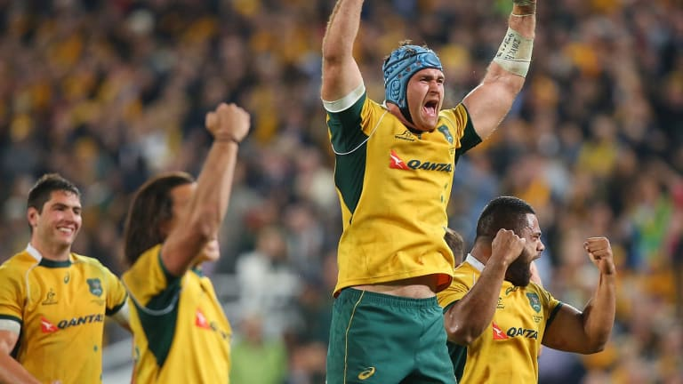 Out: James Horwill will not be on the plane to England.