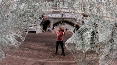 Parts of Hamburg looked like a war zone on Saturday morning following overnight protests.