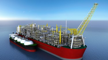 "Shell says its Prelude floating LNG venture is making ""good progress""."