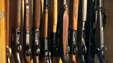 There are now more than 20,000 firearms registered in the ACT.