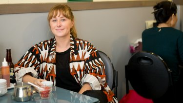 Yevu clothing founder Anna Robertson.