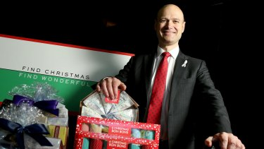 Myer chief Richard Umbers says he wants to 'protect' December 24 for families.