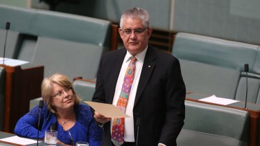"""Assistant Health Minister Ken Wyatt says Grant would """"make a great Liberal""""."""