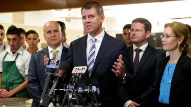 Premier Mike Baird leads Luke Foley as preferred premier by 54 per cent to 24 per cent with 22 per cent uncommitted.