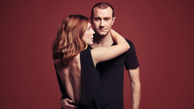 Matilda Ridgway and Josh McConville star in Bell Shakespeare's first  <i>Hamlet</i> since 2008.