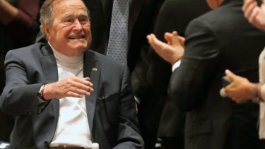 Former president George H.W. Bush  has been accused of groping women.