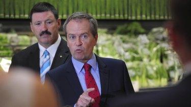 Opposition Leader Bill Shorten has spent the first fortnight back at work for 2016 visiting marginal electorates.