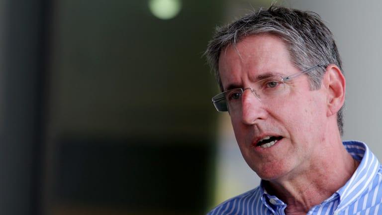 Children's Health Queensland chief executive Dr Peter Steer.