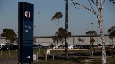 Port Phillip Prison in Melbourne, Australia where some prisoners take part in bibliotherapy sessions.