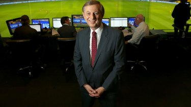 King of the one-liners: Dennis Cometti has retired from calling AFL games - but will be heard during the 2017 WAFL season.