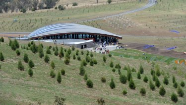 The National Arboretum Canberra – one of Catherine Townsend's top five favourite Canberra buildings.