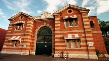 The main entrance to Boggo Road jail.
