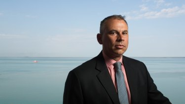 """""""It was a little blip on the media radar"""": Northern Territory Chief Minister Adam Giles."""