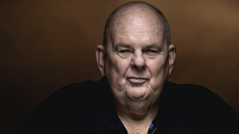 Characteristically laconic: Les Murray.