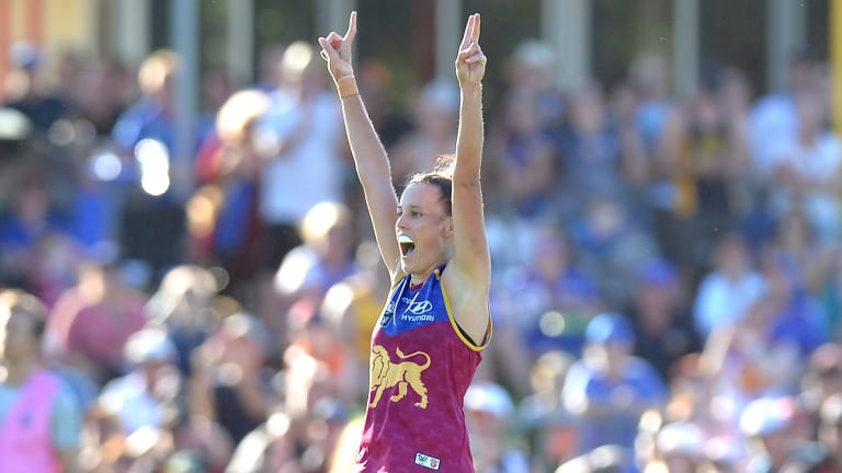 Brisbane Lions AFLW captain and all-Australian squad selection Emma Zielke.