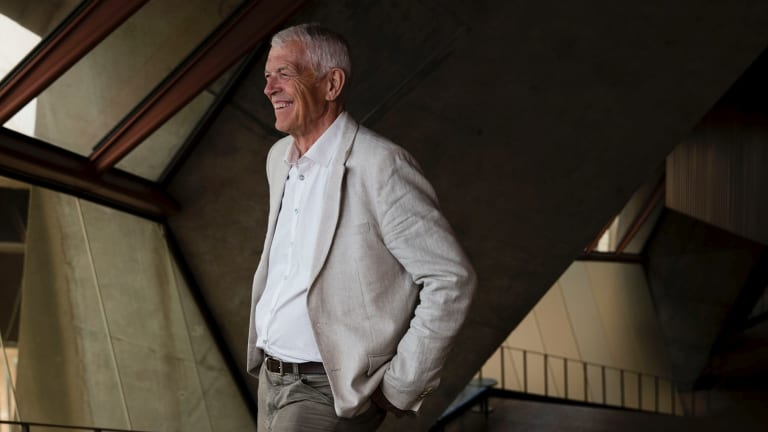 Jan Utzon, son of Jorn Utzon who was the original architect of the Opera House, is in Australia to present the 60th Good Design Awards.