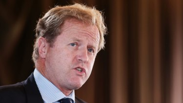 New deal: Dave Smith has secured a $925m windfall for the NRL