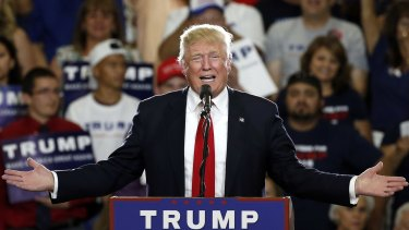 Republican presidential candidate Donald Trump is under pressure to release his tax returns.