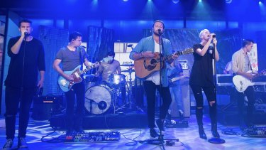 Hillsong United, the youth worship band of Hillsong Church, feature in the new movie.