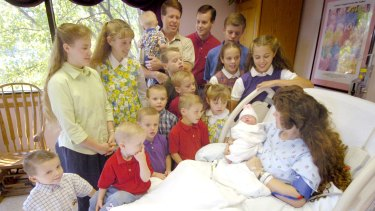 The hyper-religious Duggar family from 19 Kids and Counting.