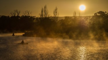 There are so many Canberra places where one seldom sees a soul.