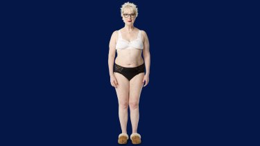No airbrushing: Jenny Eclair in <i>How To Be A Middle Aged Woman (Without Going Insane)</i>.
