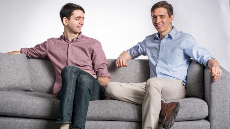 Hubble founders Ben Cogan (left) and Jesse Horwitz.