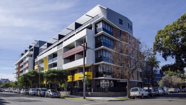 The City West Exordium apartments (pictured), which opened in Zetland in 2016, is among a number of affordable housing projects located in Green Square.