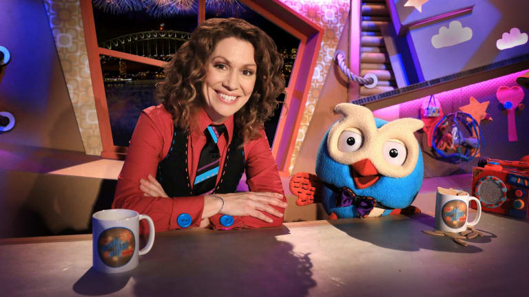 Kitty Flanagan and Hoot the owl will help ring in the New  Year on the ABC.