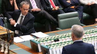 """Opposition Leader Bill Shorten says Labor's plans would represent """"the most important structural budget reform in a decade""""."""