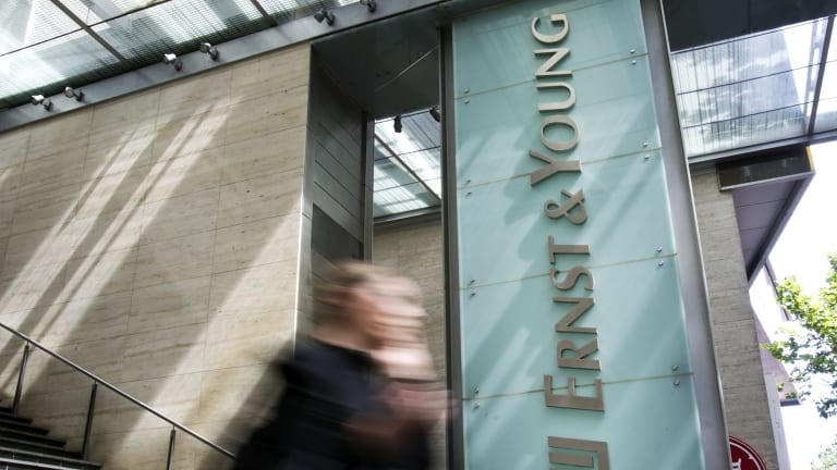 Treasury figures confirm that the biggest winner from the transactions was consultancy Ernst and Young.