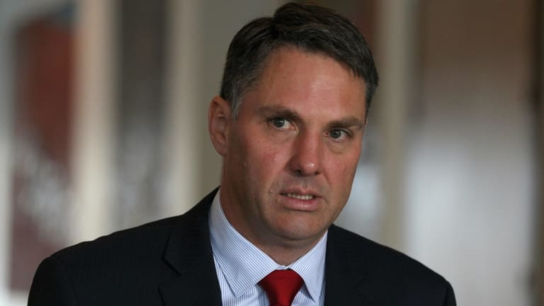 Labor defence spokesman Richard Marles says Australia should assert its rights to nativate the high seas under international law.