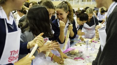 Students and family members of Moriah College take part in The Shabbos Project.
