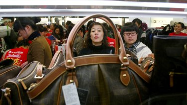 The spending of China's expanded middle class is already greater than predicted.