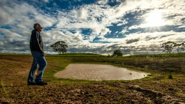 Farmers are looking for more winter rain.