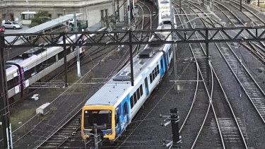 All Metro trains were stopped due to a computer fault.