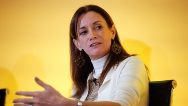 "Blythe Masters, CEO of Digital Asset Holdings: ""Firms are under enormous pressure to radically rethink business model, and we are not talking about shaving 5, 10 or 15 per cent off the cost base.... We are talking about shaving 50, 60, 70 per cent out of cost bases…"" she said."