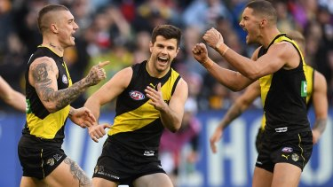 The real deal: Dusty and the Tigers are finals-bound.