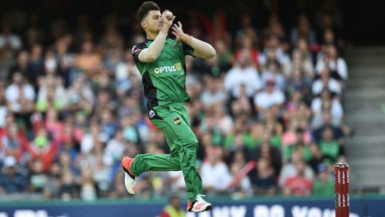 Got some nip: Marcus Stoinis.