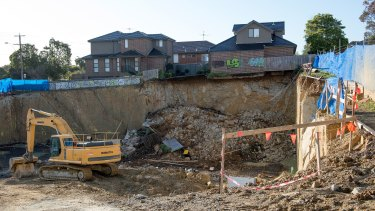 Developer Jim Nicolaou  says the townhouses are now 'perfectly fine'.