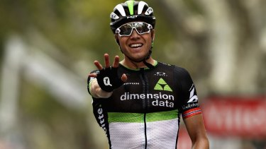 Dimension Data's Edvald Boasson Hagen wins stage 19 in Salon-de-Provence.