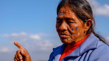 Kaiowa elder Marcelina's ancestors died in the struggles for land in Mato Grosso do Sul state.