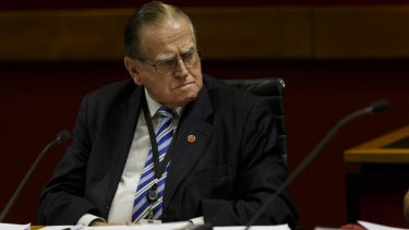 An attack on right to pray: Rev Fred Nile.