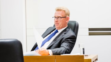 Liberals Mark Parton has urged white men over 30 be more included in Canberra society.